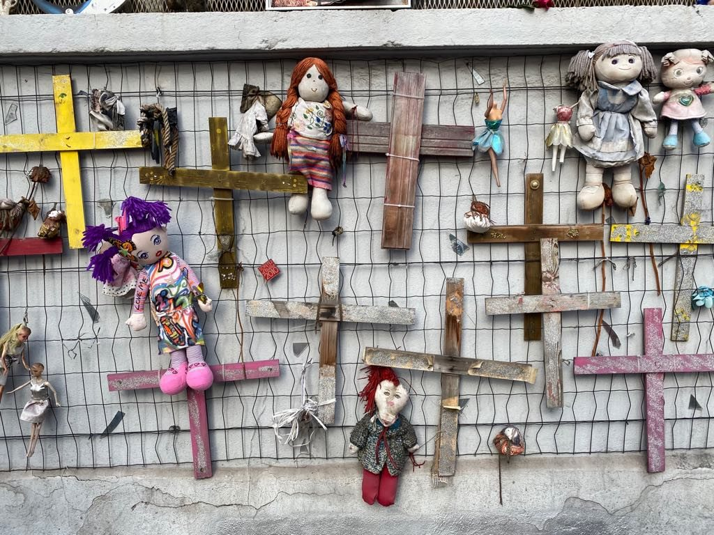 Антифемицидная стена, Милан. Фото: Дмитрий Волчек.